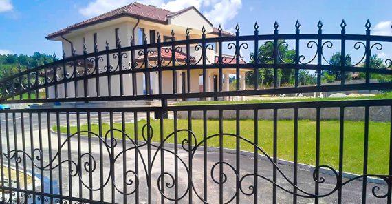 порта за двор