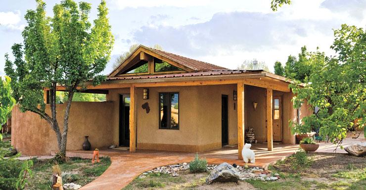 къща от кирпич